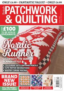 Patchwork & Quilting UK - December 2020 - January 2021