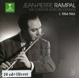 Jean-Pierre Rampal - The Complete Erato Recordings Vol I. 1954-1963 (2015) {10CD Box Set Erato-Warner Classics 0825646190447}