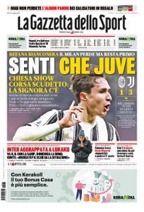 La Gazzetta dello Sport Roma – 07 gennaio 2021