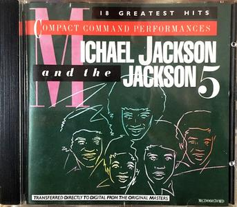 Michael Jackson & The Jackson 5 - Compact Command Performances: 18 Greatest Hits (1984) {Club Edition}