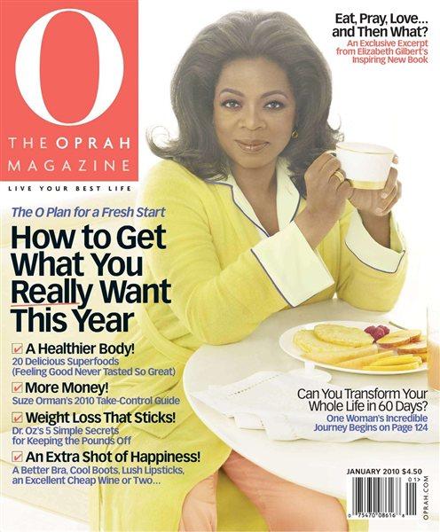 Oprah Magazine - January 2010