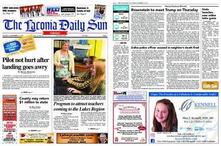 The Laconia Daily Sun – September 25, 2018
