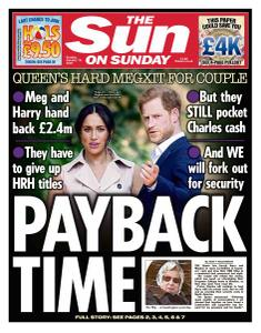 The Sun UK - 19 January 2020