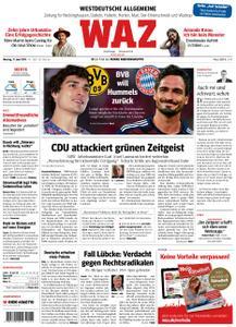 WAZ Westdeutsche Allgemeine Zeitung Vest-Recklinghausen - 17. Juni 2019