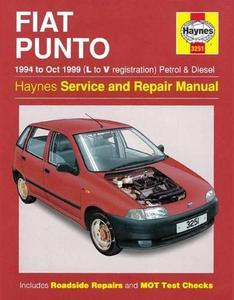 Fiat Punto 1994-1999 Service and Repair Manual