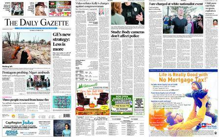 The Daily Gazette – October 21, 2017