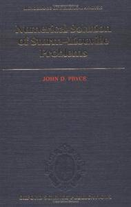 Numerical Solution of Sturm-Liouville Problems (Numerical Mathematics and Scientific Computation)