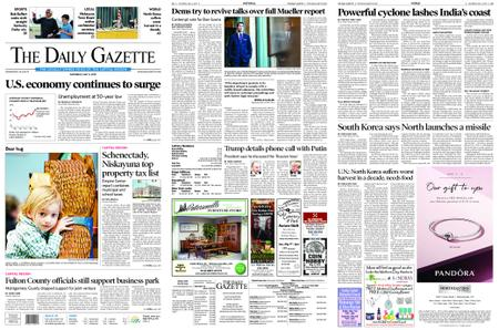 The Daily Gazette – May 04, 2019