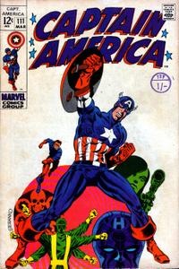 Captain America 111 HD Mar 1969 c2c