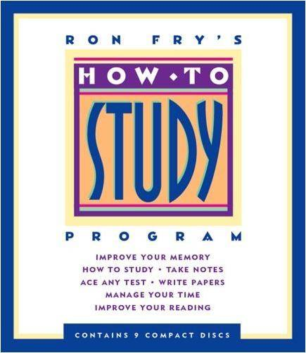 Audiobook: How to Study by Ron Fry