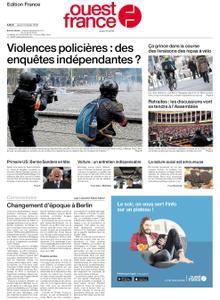 Ouest-France Édition France – 13 février 2020