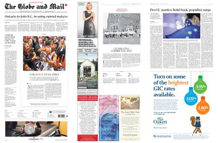 The Globe and Mail – May 27, 2019
