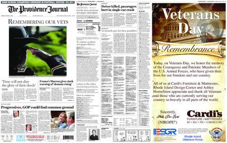 The Providence Journal – November 12, 2018