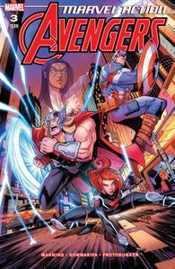 Marvel Action Avengers 003 2019 Digital Zone