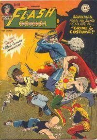 Flash Comics 1948-08 098 reprints Black Canary  Atom only