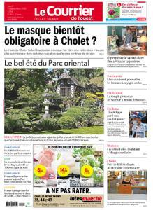 Le Courrier de l'Ouest Cholet – 03 septembre 2020