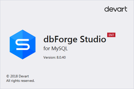 dbForge Studio for MySQL Enterprise 8.0.40