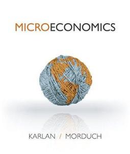 Microeconomics (Repost)