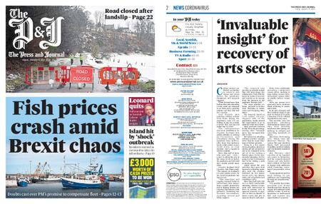The Press and Journal Moray – January 15, 2021