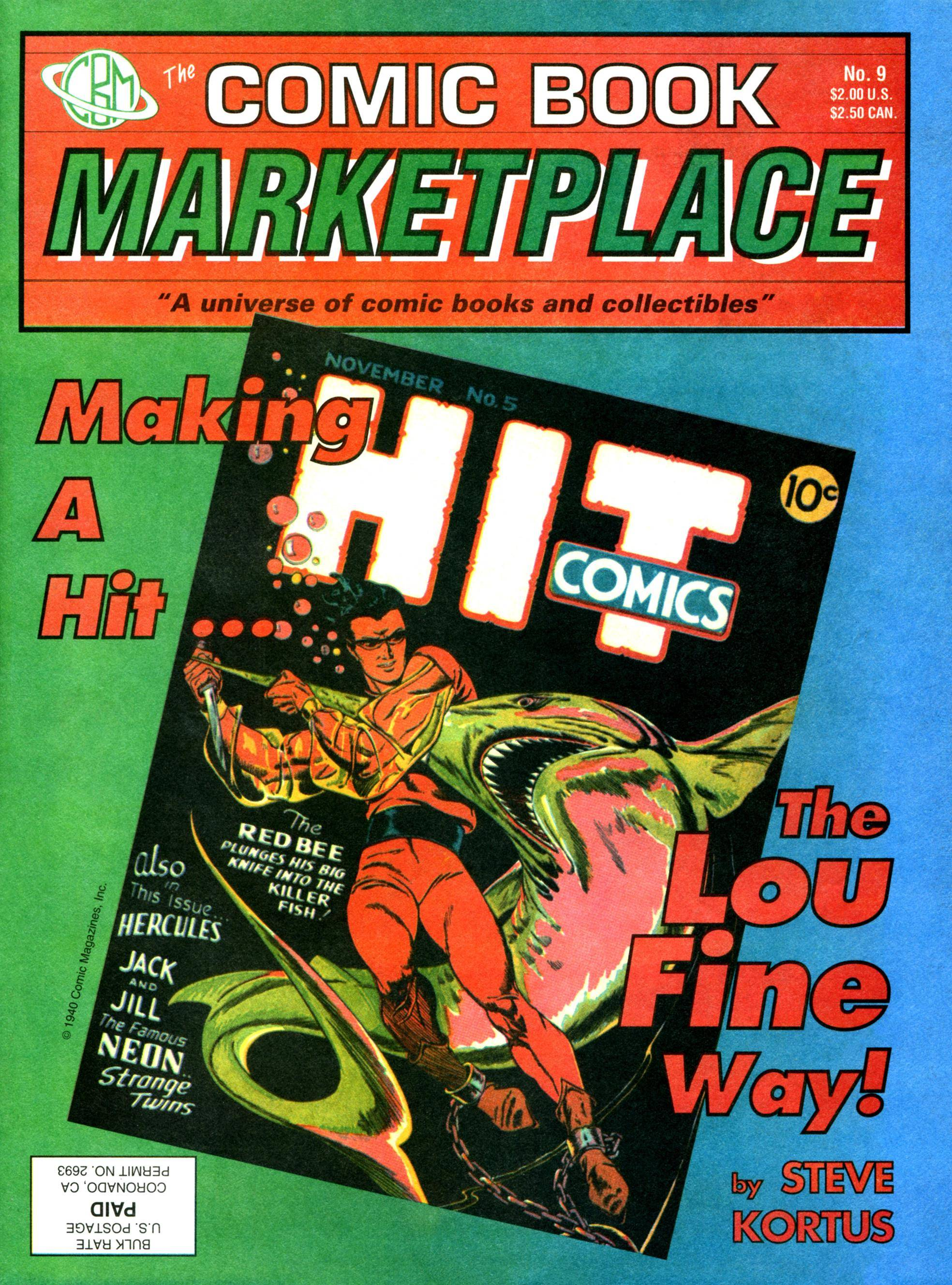 Comic Book Marketplace 009 1992