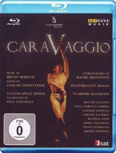 Mauro Bigonzetti, Paul Connelly, Staatskapelle Berlin - Moretti, Monteverdi: Caravaggio (2009) [Blu-Ray]