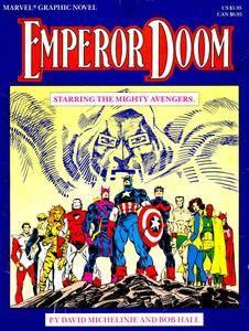 Marvel Graphic Novel 27 - Avengers - Emperor Doom 1987
