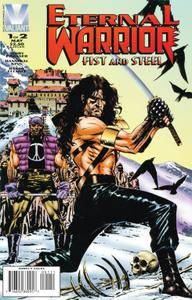Eternal Warrior - Fist and Steel 001 1996 digital