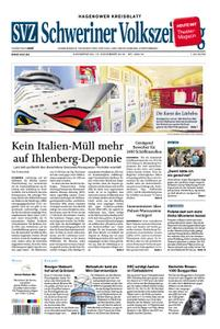 Schweriner Volkszeitung Hagenower Kreisblatt - 15. November 2018