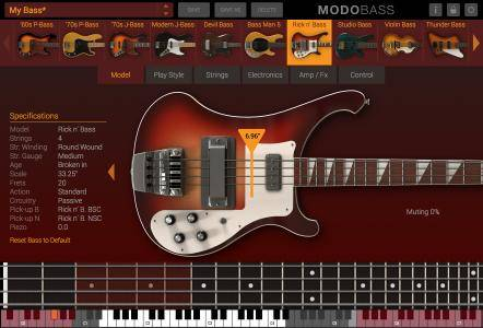 IK Multimedia MODO BASS 1.0.2 (Win/Mac)