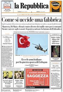 la Repubblica - 16 Ottobre 2019