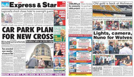 Express and Star City Edition – August 25, 2018