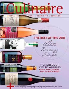 Culinaire Magazine - October 2018