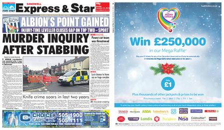 Express and Star Sandwell Edition – December 31, 2018