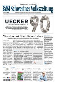 Schweriner Volkszeitung Hagenower Kreisblatt - 13. März 2020