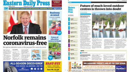 Eastern Daily Press – March 13, 2020