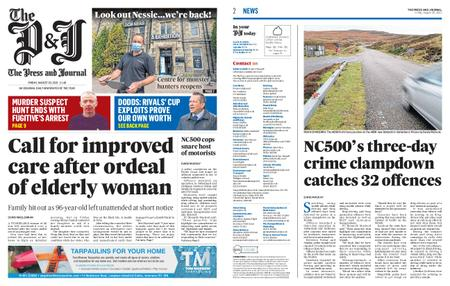 The Press and Journal Moray – August 20, 2021