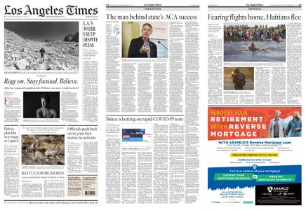 Los Angeles Times – September 22, 2021