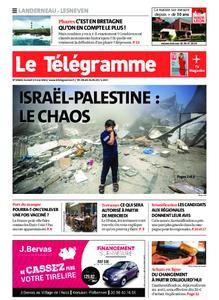 Le Télégramme Landerneau - Lesneven – 15 mai 2021
