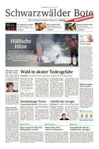 Schwarzwälder Bote Hechingen - 25. Juli 2019