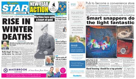 Shropshire Star Shrewsbury Edition – January 02, 2019