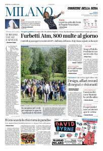Corriere della Sera Milano - 22 Aprile 2018