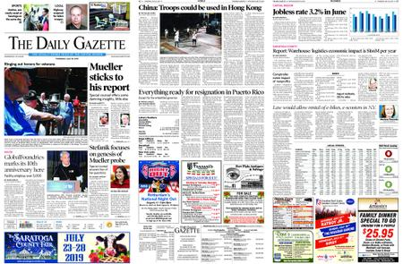 The Daily Gazette – July 25, 2019