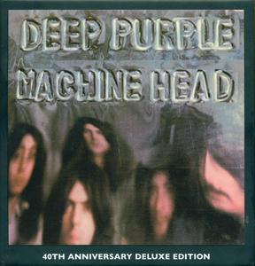 Deep Purple - Machine Head (1972) [2012, 40th Anniversary DeLuxe Edition, 4CD+DVD] Repost