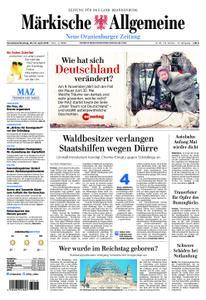 Neue Oranienburger Zeitung - 20. April 2019