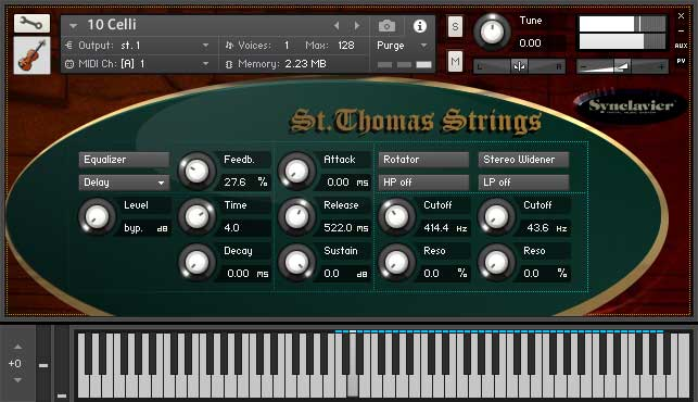 Digital Sound Factory - Synclavier St Thomas Strings KONTAKT