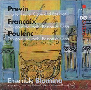 Ensemble Blumina - Previn / Francaix / Poulenc: Trios (2013) {Hybrid-SACD // ISO & HiRes FLAC}