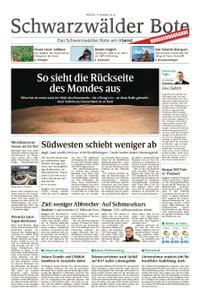 Schwarzwälder Bote St. Georgen, Triberg, Furtwangen - 04. Januar 2019