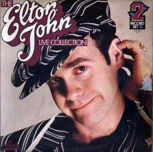 Elton John - The Elton John 'Live' Collection (1979) Pickwick Records/PDA 047 - UK 1st Pressing - 2 LP/FLAC In 24bit/96kHz