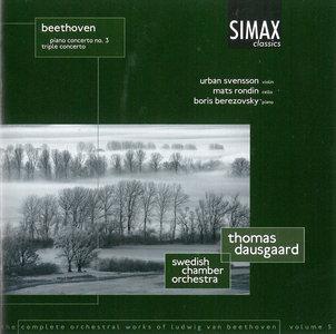 Boris Berezovsky, Swedish CO, Thomas Dausgaard - Ludwig van Beethoven: Piano Concerto No. 3, Op. 37; Triple Concerto (2002)