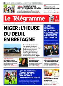 Le Télégramme Brest Abers Iroise – 12 août 2020